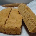レンジで簡単!低糖質「きな粉おから蒸しパン」冷凍保存可