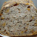バターなしでもおいしい くるみごま食パン|ホームベーカリー