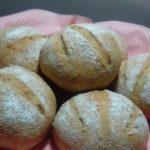 食物繊維ビタミン豊富なライ麦入りプチパン(一次発酵までホームベーカリー)