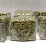 ホエー消費に米粉とおからのよもぎ蒸しパン(グルテンフリー)