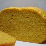 色鮮やか かぼちゃ食パン|ホームベーカリー