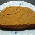 トーストに「簡単きな粉ペースト」(ココアペースト)作り方