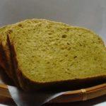 ほろ苦大人の味 抹茶食パン|ホームベーカリー