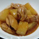 めんつゆで簡単! 鶏肉と大根のこっくり煮15分